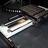 CAPTION: © Fraunhofer USA ## Custom automation system for large, interference lithography substrates - close up.