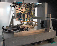 CAPTION: © Fraunhofer USA ## Custom automation system for large, interference lithography substrates.