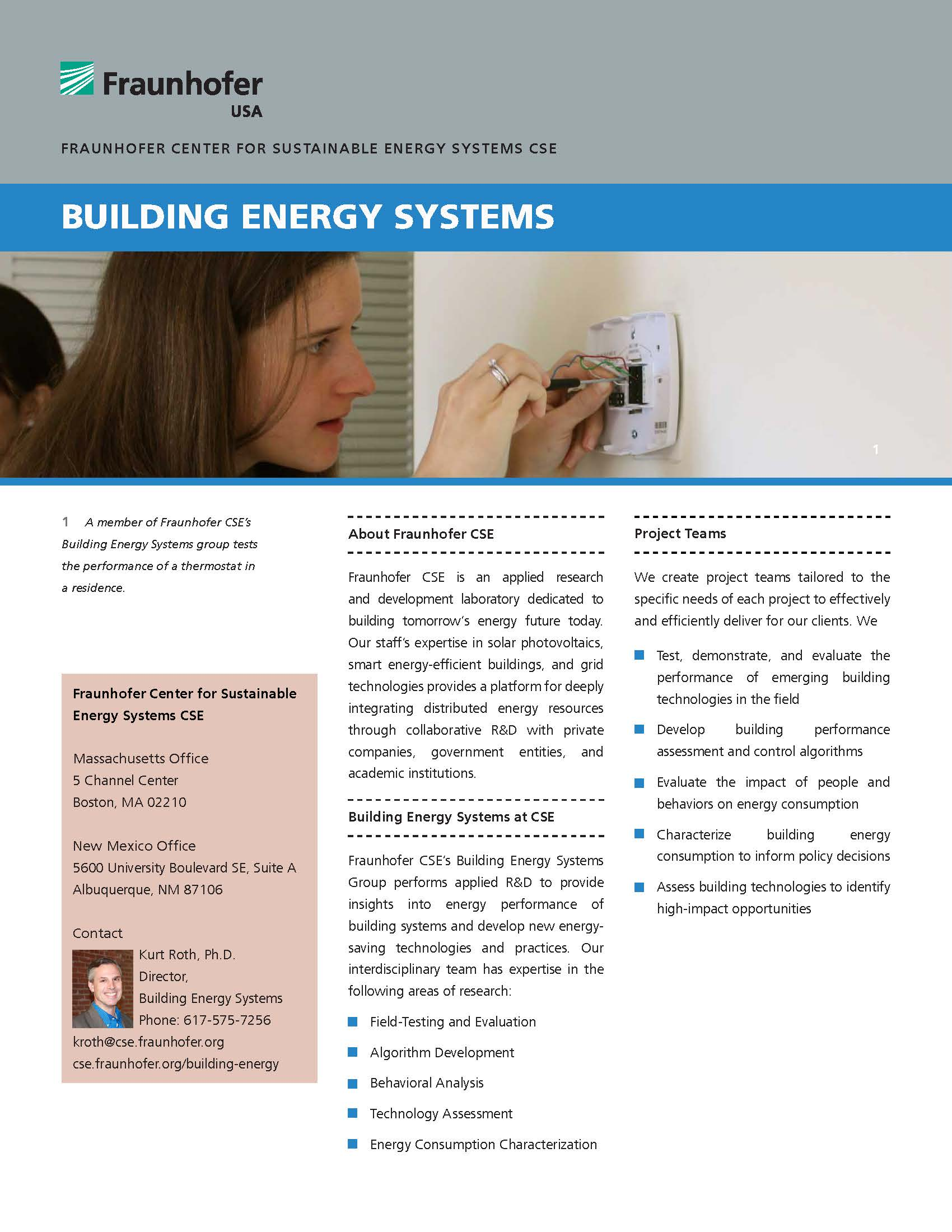 Building Energy Systems