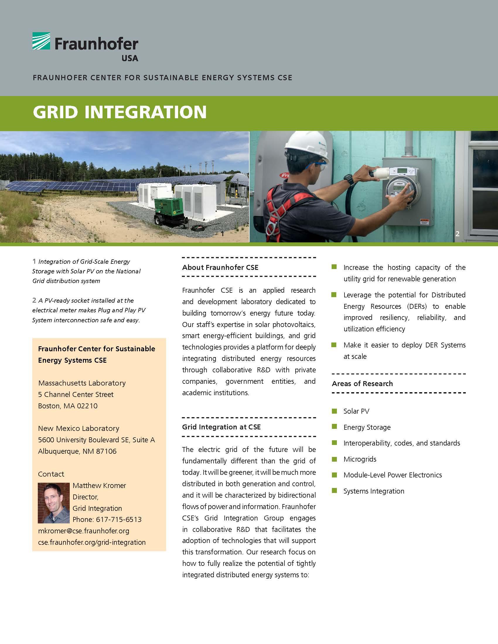 Grid Integration